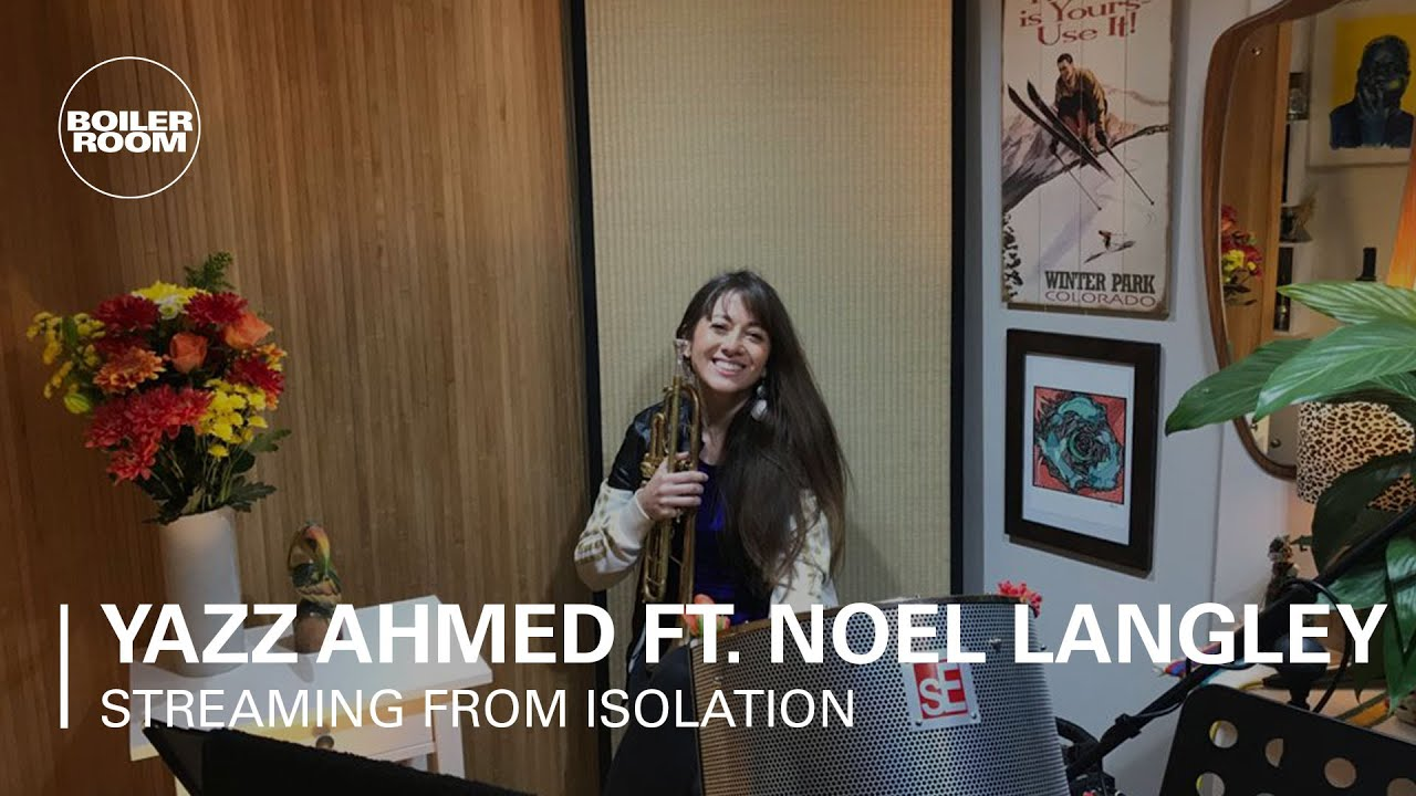 Yazz Ahmed solo set, also featuring Noel Langley, from their home studio during the lockdown in spring 2020.